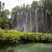 Wasserfall Veliki Prstavac am See Gradinsko Jezero im Nationalpark Plitvicer Seen, Kroatien