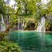 Wasserfall Galovački Buk am Galovac See in Plitvice, Kroatien