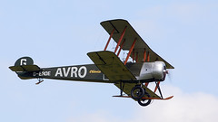 Avro 504K (Bernie Condon) Tags: uk british shuttleworth collection oldwarden airfield airshow display aviation aircraft plane flying avro avro504 trainer raf military vintage preserved 1920s royalairforce shuttleworthcollection