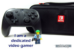 I am a dedicated video gamer (WhiteFang (Eurobricks)) Tags: lego collectable minifigures series city town space castle medieval ancient god myth minifig distribution ninja history cmfs sports hobby medical animal pet occupation costume pirates maiden batman licensed dance disco service food hospital child children knights battle farm hero paris sparta historic brick kingdom party birthday fantasy dragon fabuland circus