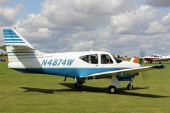 Rockwell Commander 114 N4874W (Craig S Martin) Tags: sywell aviation aircraft airplane laa flyin