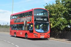 LK14 FBA (VWH2007) Metroline London (hotspur_star) Tags: londontransport londonbuses londonbus londonbuses2019 wrightbus volvoeclipsegemini tfl transportforlondon busscene2019 doubledeck metrolinelondon lk14fba vwh2007 43