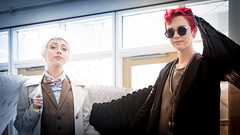 Long Beach Comic Con 2019 015 (shotwhore photography) Tags: longbeachcomiccon2019 lbcc2019 longbeachconventioncenter comicconvention cosplayconvention cosplay jaegerb aziraphale crowley goodomens