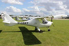Flight Design CTSW G-CEKT (Craig S Martin) Tags: sywell aviation aircraft airplane laa flyin
