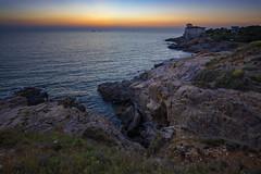 Castel Boccale (szn_d) Tags: italy castel boccale livorno landscape sea sunset beautiful canon