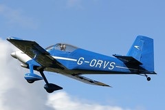 Van's RV-9 G-ORVS (Craig S Martin) Tags: sywell aviation aircraft airplane laa flyin vans rv9 gorvs