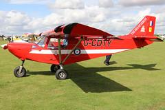 G-CDTY (GH@BHD) Tags: gcdty icp mxp740 savannah icpmxp740savannah laarally2019 sywellairfield laa laarally sywell microlight aircraft aviation