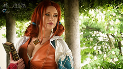 Sacchy Cosplay as Triss from Witcher III, by Ailiroy and SpirosK photography (SpirosK photography) Tags: voltaincosplay2019 triss sacchycosplay witcher thewitcher videogame game videogamecharacter voltaincosplay cosplay volta portrait costumeplay italy italia palazzogonzaga voiltamantovana thewitcheriiiwildhunt spellbook panasoniclumixdmcg7