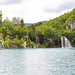 Wasserfall am Fluss Korana im Nationalpark Plitvicer Seen, Kroatien