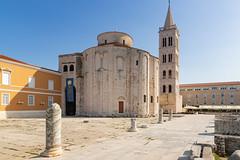 Kirche des Hl. Donat in der Altstadt von Zadar, Kroatien