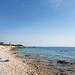 Die Adriatische Küste im Südwesten von Silba, Kroatien