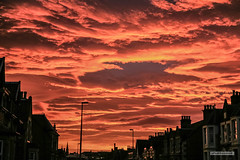 "Sky like the ""fires of hell"" precedes a fierce Autumn storm in Inverness, Scotland. (Scotland by NJC.) Tags: clouds haze billowing mist fog ""rain clouds"" obscure shadow سَحَابَة nuvem 云 oblak sky wolk nube pilvi nuage wolke σύννεφο nuvola 雲 chmura nor sunrise dawn daybreak sunup morning daylight شُروقُ الشَّمْس ""nascer do sol"" 日出 ""izlazak sunca"" ""východ slunce"" solopgang zonsopgang amanecer auringonnousu ""lever du soleil"" sonnenaufgang alba 日の出 town pueblo stad by stadt dorf cittadina cittadino cidade tref kasaba ville baile inverness scotland stormysky ""redskyatnight shepherd'sdelight redskyinthemorning sailor'swarning"