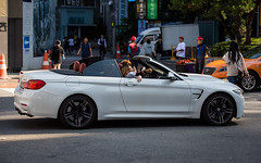 (seua_yai) Tags: automobile car asia southkorea candid people transportation traffic wheels street koreaseoul2019 bmw m4