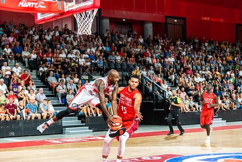 Petite finale - JL Bourg vs Elan Chalon - ©Jean-Denis Izou