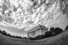 The Land of Lincoln (Thomas Hawk) Tags: america dc districtofcolumbia lincolnmemorial usa unitedstates unitedstatesofamerica washingtondc architecture bw washington fav10 fav25 fav50 fav100