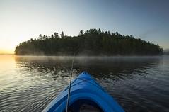 Back to School (Matt Champlin) Tags: backtoschool school life boat boating fish fishing adk adirondacks nature cranberrylake canon 2019 kayak september camp camping wilderness
