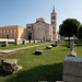 Roman Forum and Church of St. Donatus in Zadar, Croatia