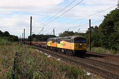56087+56049 6S31 askham 03.09.2019 (Dan-Piercy) Tags: colasrail class56s 56087 56049 askhambar 6s31 doncaster updecoy millerhill ss engineers ecml