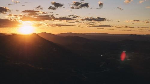 Sunset at Pedra do Tendó
