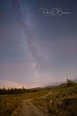Sally Gap under the stars (Paul O'B) Tags: milky way wicklow night astro astrophotopgraphy sally gap sony alpha moveshootmove startracker