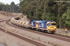 IMG_7382 8129 8146 Pothana 5M33 3.9.19_1 (Brians Railway, Bus and Shipping Collection) Tags: 8129 8146 ballast pn pacificnational gm 81class pothana nsw australia train railway railroad wagons