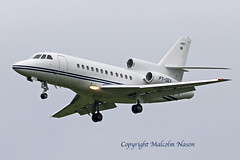 DASSAULT FALCON 900 PT-OEX (shanairpic) Tags: bizjet executivejet corporatejet shannon