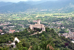 Italie , Monte Cassino (pontfire) Tags: italie montecassino monte cassino rocca janula trip travel voyage europe europa trips traveler tourism holiday road route italy iltalia