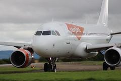 Easyjet G-EZEH Airbus A319-111 Crew Training at Teesside International Airport MME England UK (thelastvintage) Tags: easyjet gezeh airbus a319111 crew training teessideinternationalairport mme england uk first flight date 11032004 16042004 13092004 switzerland hbjzf 29102015