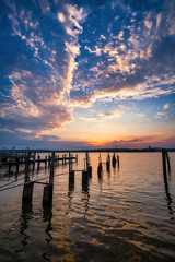 September Morn (Rob Shenk) Tags: alexandria alx visitalx oldtownalexandria virginia potomac potomacriver sunrise river