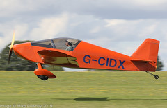 G-CIDX - 2016 build Sonex Aircraft Sonex, departing from Runway 21L at Sywell during the 2019 LAA Rally (egcc) Tags: 1493 2019laarally dilks egbk gcidx homebuilt laa33715058 laarally lightroom northampton orm sonex sonexaircraft sywell