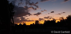 September 1, 2019 - A beautiful end to the day in Broomfield. (David Canfield)