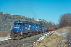 UPS at East Bangor (douglilly) Tags: conrail ups gp382 eastbangor