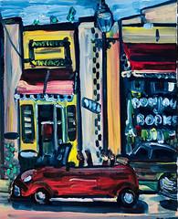 Bonjour Books (The Big Jiggety) Tags: oil canvas pleinair huile toile oleo tela art arte kunst