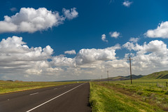 Forward dream (.KiLTЯo.) Tags: kiltro ca us california pasorobles road highway roadtrip field landscape countryside green blue sky clouds nature