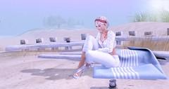 hazy sunshine and a bit rain (nicandralaval1) Tags: djsf shutterfield nomatch picazzo tat goz saturdaysale smesh beach 7deadlys{k}ins 22769 pointofpines greatisland it welovetoblog