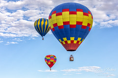 September 2, 2019 - Ballons take to the skies in Colorado Springs. (Tony's Takes)