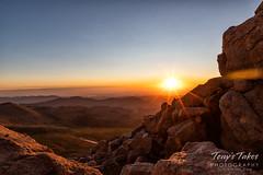 September 1, 2019 - A gorgeous sunrise on Mount Evans. (Tony's Takes)