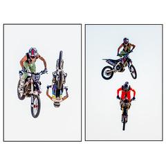 The Bolddog Aerial Stunt Team in Action (Andy J Newman) Tags: motorbike danger nikon greatdorsetsteamfair motocross d500 bolddoglingsfreestyleteam motorcyclist dorset man stunt bolddog sport daredevil aerial men