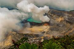 Volcano Poas (FVillalpando) Tags: volcano landscape clouds crater colours adventure water sand costarica ngysa