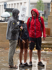 _1038192.jpg (Stephen.Bingham) Tags: bristolstopthecoupmarch events brexit politics bristol protest march demonstration prorogation bristolforeurope placard ccbysa creativecommons attributionsharealike rain wet