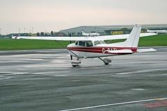 G-RATI C172 CVT 15-08-12 (cvtperson) Tags: grato cessna 172 coventry airport cvt egbe