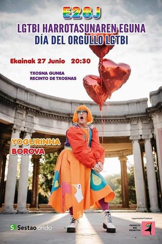 CARTELES de ACTUACIONES y EXPOSICIONES de Yogurinha Borova