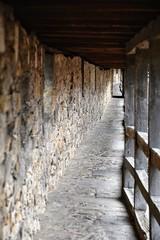 Along the Walls (sharon.corbet) Tags: rothenburgodtauber citywalls 2019 germany medieval bavaria wood stone