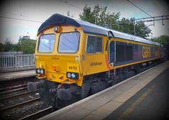 UK class 66 (onewayticket) Tags: diesel railway trains transport gbrailfreight gbrf