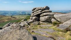 View from Higger Tor (Maria-H) Tags: hills view higgertor peakdistrict derbyshire uk olympus omdem1markii panasonic 1235