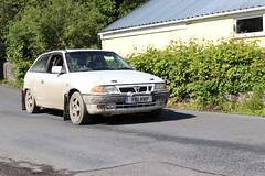 Vauxhall Astra GSi K61MWP (Andrew 2.8i) Tags: classic classics rally race car cars auto autos automobile voiture tracks targa club motor llandysul british hatch hatchback hot gm generalmotors opelkadett gsi astra vauxhall k61wmp