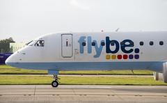 Flybe - Embraer ERJ-195LR (G-FBEG) (Matthew Garner) Tags: gfbeg embraer erj195lr aviation avgeek airliners manchester airport egcc flying travel planes planespotting flybe
