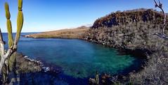 Cala de buceo (dcdc887) Tags: ecuador galapagos mar sea ocean océano landscape paisaje bay bahía horizon horizonte