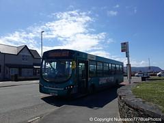 CX14BYK 3172 Arriva Buses Wales in Llandudno (Nuneaton777 Bus Photos) Tags: arriva buses wales wright pulsar cx14byk 3172 llandudno