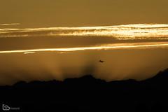 take off (alamond) Tags: canon 7d markii mkii llens ef 70300 f456 l is usm alamond brane zalar light flare beam sunset mountains plane takeoff dark evening clouds